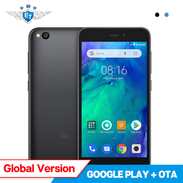 Global Version Xiaomi Redmi GO 1GB 8GB Snapdragon 425 Quad Core 5.0'' 4G Mobile Phone 3000mAh Battery FDD LTE 8.0MP Camera OTA