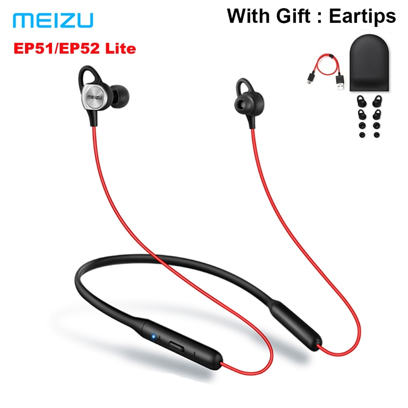 Meizu EP51 EP52 Lite Wireless Bluetooth Sport Earphone Stereo Headset With MIC Support Apt X 8 Hours Play Waterproof IPX5
