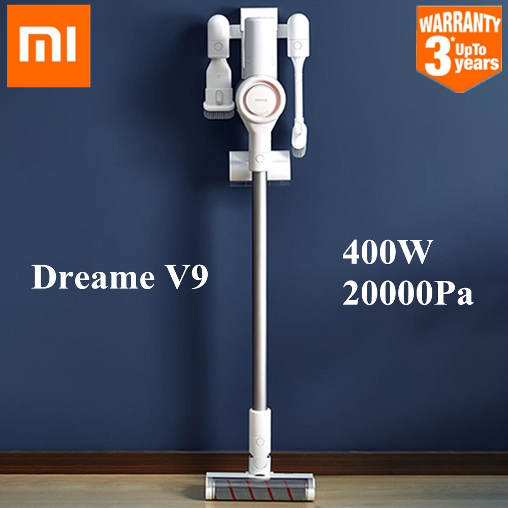 MI,Xiaomi Dreame V9 Vacuum Cleaner Handheld Cordless Stick Aspirator Vacuum Cleaners 20000Pa For Home Car from Xiaomi Youpin