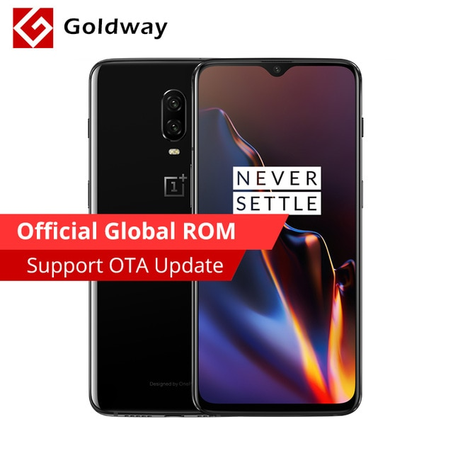 "Oneplus 6T 6 T 8GB 128GB Smartphone Snapdragon 845 Octa Core 6.41"" Full Screen 19.5:9 20MP AI Dual Camera NFC Mobile Phone"