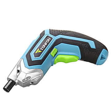 US$34.90 28% XIAOMI Tonfon 3.6V Cordless Electric Screwdriver USB Rechargable Power Screw Driver with Screw Bits Power Tools from Tools, Industrial & Scientific on banggood.com