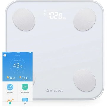 US$44.99 25% XIAOMI YUNMAI Mini 2 Smart Body Fat Scale bluetooth Digital Weight Scale with Free English APP Body Composition BMI Monitor Analyzer Health Management from Health & Beauty on banggood.com