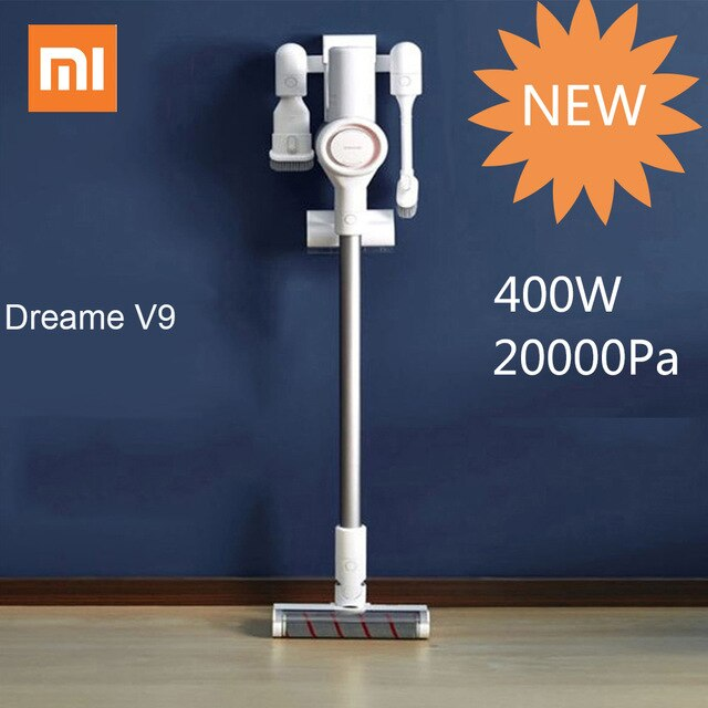 Xiaomi Dreame V9 Cordless Vacuum Cleaners Handheld Vacuum Cleaners 400W 20000Pa Acarid-Killing For Home Car